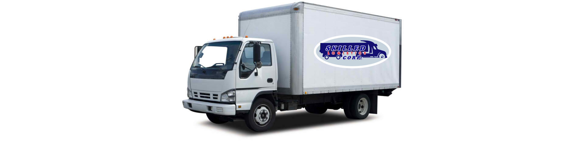 white small truck
